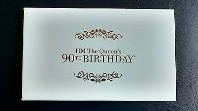 2016 Gold Limited Edition Prestige Booklet Her Majesty The Queen's 90th Birthday