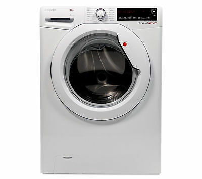 HOOVER DXA48W3 Washing Machine Washer - White 8kg Capacity Spin 1400rpm A+++