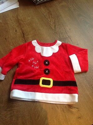 Father Christmas Top 3-6 Months
