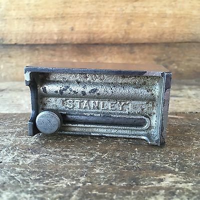 Vintage Hand Tools STANLEY USA SW No:95 BUTT GAUGE Antique Old Marking Tool #39