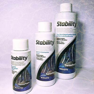 Seachem Stability Safely Establishes Bio Filter System For Marine Freshwater