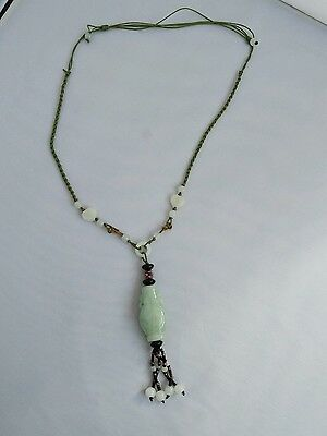 chinese Vintage jade necklace