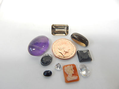 Selection of Gemstone's x 9.