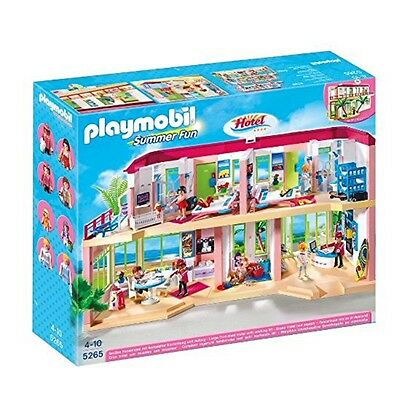 Playmobil 5265 Large Furnished Hotel BRAND NEW & FREE DELIVERY !!