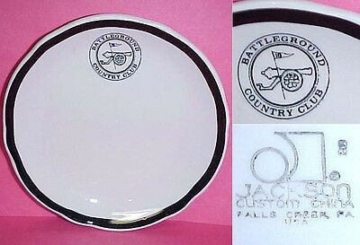 Battleground Country Club Butter Plate Manalapan NJ