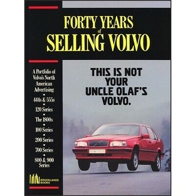 Forty Years of Selling Volvo book paper