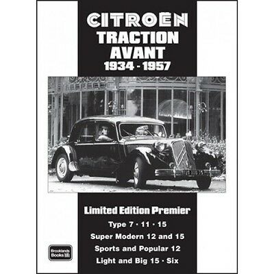 Citroen Traction Avant Limited Edition Premier 1934-1957 book paper