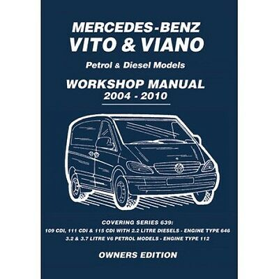 Mercedes-Benz Vito & Viano 2004-2010 Owners Workshop Manual book paper