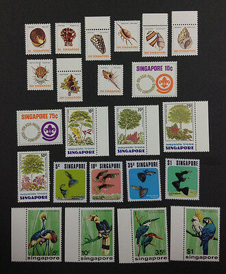 Momen: Singapore Stamps # Premium Sets Mint Og Nh $ Lot #2686