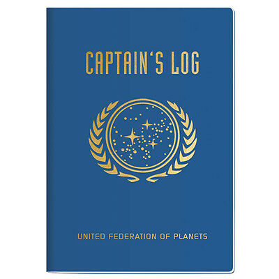 Star Trek - Captain's Log Notebook (Large)