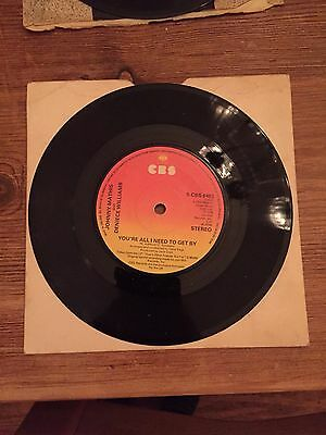 """Johnny Mathis - You're all i need to get by 7"""" vinyl"""