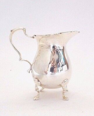 Siver Jug Edwardian Classic Solid Sterling Silver Mappin & Webb London 1919