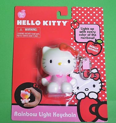 Hello Kitty Rainbow Light Up Keychain Toy Collectible