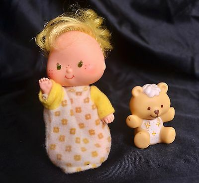 Butter Cookie & Jelly Bear Strawberry Shortcake Kenner Doll 1979 Toy 4+