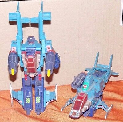 LOT GRAND TRANSFORMERS G1, Vintage space robot toy G2 Hasbro 1991:Rotorstorm