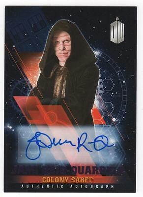 DOCTOR WHO Timeless - JAMI REID-QUARRELL as Colony Sarff - Autograph 9/25 Purple