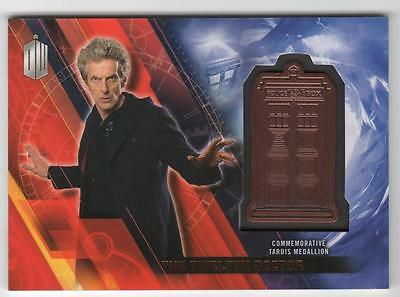 DOCTOR WHO Timeless - The Twelfth Doctor Current - Tardis Medallion 016/150