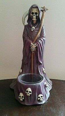 Grim Reaper Votive Candle Holder