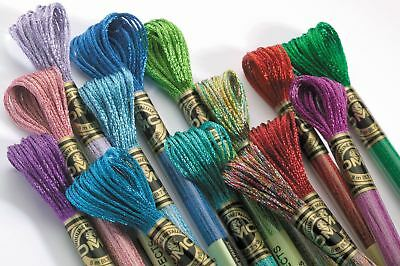 DMC Mouliné Stranded Cotton Embroidery Thread - Light Effects