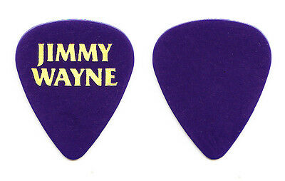 Jimmy Wayne Dark Blue Tour Guitar Pick