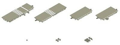 Tomytec Moving Bus System Intersection Expansion Set A 1/150 N scale X-003