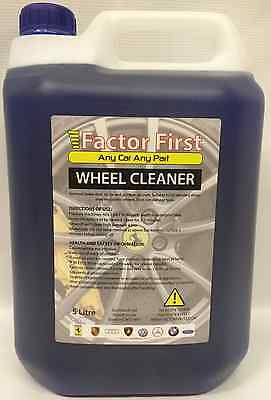 X 5L Red Blood Car Paint Alloy Wheel Cleaner Iron Remover Contaminent F-F