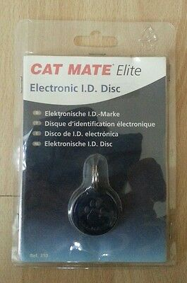 Disque d'identification ėlectronique Cat Mate Elite