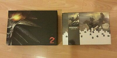The Witcher 2: Assassins Of Kings - Collectors Edition [PC] and Witcher Jigsaw