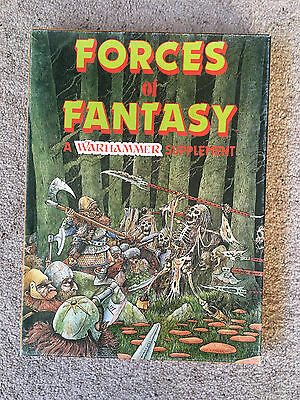 WARHAMMER FANTASY BATTLE - Forces of Fantasy plus Book of Battalions - Boxed