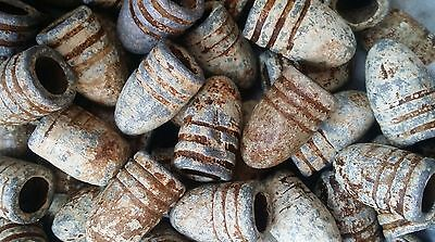 Antique Old Dug Relics Civil War Era Crimean War Minnie Lead Bullets