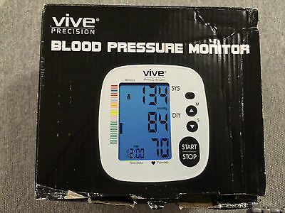 Blood Pressure Monitor by Vive Precision Automatic Digital Upper Arm DMD1001