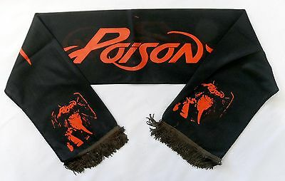 POISON 'Open Up and Say Ahh!' Vintage Concert Scarf