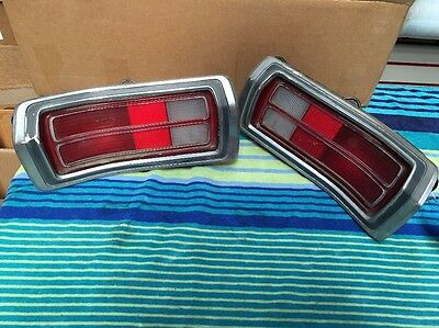 1973 Plimouth Duster Rear Tail Lights
