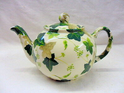 Maple ivy design 2 cup teapot by Heron Cross Pottery