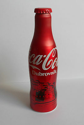 Coca Cola Croatia Dubrovnik Empty Aluminium Bottle With Cap