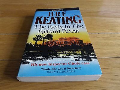 The Body In The Billiard Room H.R.F Keating Signed/Autograph Paperback 1988