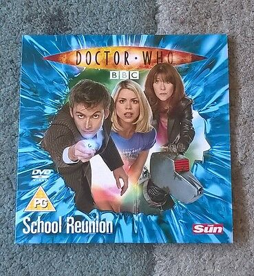 DOCTOR WHO - School Reunion promotional DVD Neil Tennant & Billie Piper Series 2
