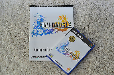 Final Fantasy X PS2 Game and Strategy Guide *Great Condition*