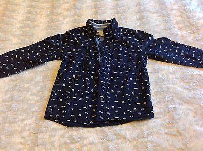 RIVER ISLAND Girl's Shirt Stylish Size 7 Years, VGC