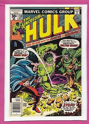 """Incredible Hulk #210_April 1977_Very Fine_""""and Call The Doctor...druid""""!"""