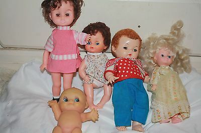 Vintage Tlc Baby Doll Lot of 5