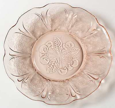 Jeannette Glass CHERRY BLOSSOM PINK Bread & Butter Plate 286026