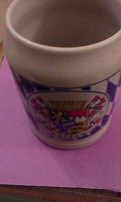 Beer Tankard Stein Bayern Made In West Germany
