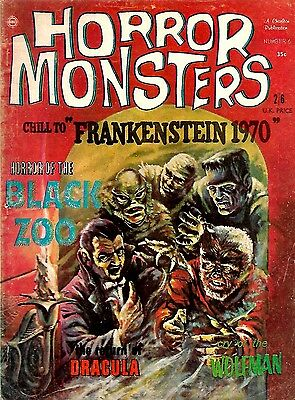 Uk Edition Horror Monsters Magazine #6 Fine Clean Tight Issue