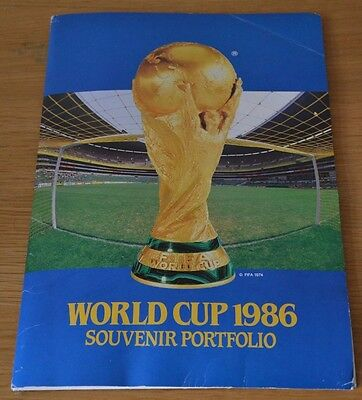 Mexico 86 World Cup Souvenir - Includes FDC, Stamps - ST. VINCENT- Really Rare
