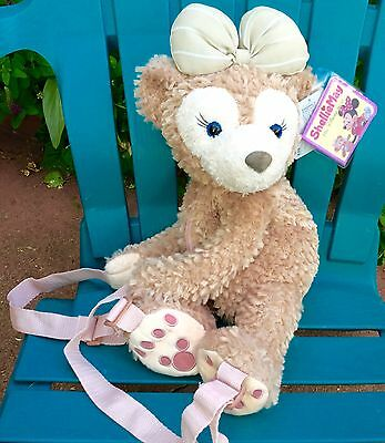 Disney Bear Hidden Mickey Shelliemay Duffy Plush Costume Backpack Rucksack Purse