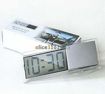Digital LCD Time Clock for Vehicle Car View Mirror Suction Cup