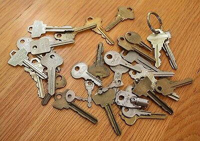 Lot of Old Collectible Keys