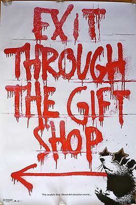 Banksy - Exit Through The Gift Shop - Original US One Sheet Movie Poster