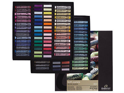 Rembrandt Soft Pastels General Selection set of 60 Full Length & 60 Half length